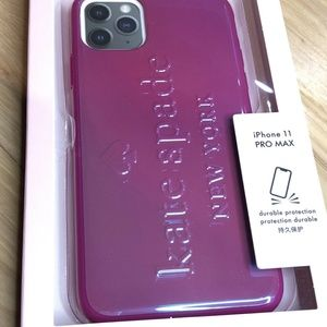 Kate Spade Logo Fitted for iPhone 11 PRO MAX CASE